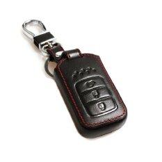 ซื้อ ซองหนังแท้เข้ากันได้กับ Keyless Remote Honda City และ Accord 2014 2017 สีดำ Honda ออนไลน์