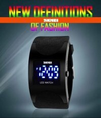 ขาย แบรนด์นาฬิกาผู้หญิง Led ดิจิตอลนาฬิกากีฬานาฬิกาแฟชั่น Arced หน้าปัดกันน้ำ 30 เมตรอิเล็กทรอนิกส์นักเรียนแต่งกาย Wristwatches0951 นานาชาติ Bounabay ออนไลน์