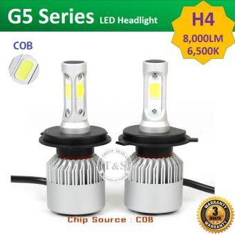 LED ไฟหน้ารถยนต์ LED รุ่น G5 ขั้วหลอด H4