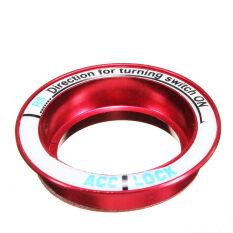 ราคา ไฟ Led ส่องสว่างจุดระเบิดกุญแจไขลานวงแหวนสติ๊กเกอร์ตกแต่งสำหรับ Ford Focus Red ถูก