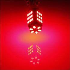 หลอดไฟหรี่ รถยนต์ Led T10 42 Smd 1 คู่ แสงสีแดง Thailand