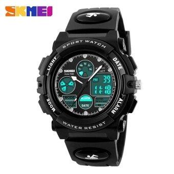เด็กนาฬิกาสปอร์ตนาฬิกาแฟชั่นเด็กดิจิตอล LED นาฬิกาสำหรับผู้ชายกันน้ำการ์ตูนนักเรียน Wristwatches 1163 - นานาชาติ