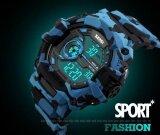 นาฬิกากันน้ำดิจิตอลนาฬิกาผู้ชายทหารกีฬานาฬิกาแฟชั่นสบาย ๆ ของผู้ชายคนนักว่ายน้ำชุด Led Wristwatches 1233 นานาชาติ จีน