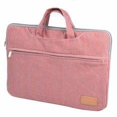 ราคา Lightning Power 15 Inch Denim Sleeve Case With Anti Shock Cotton Shock Resistant Padding Notebook Bag For 15 6 Inch Notebook Red White Intl ใหม่