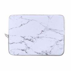 ขาย Lightning Power Soft Neoprene Laptop Notebook 13 Inch Zipper Sleeve Carrying Case Bag For All 13Inch Notebook Marble White Intl