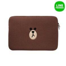 ราคา Line Friends ซองแลปท็อป 13 นิ้ว ลายหมีบราวน์ ออนไลน์ Thailand