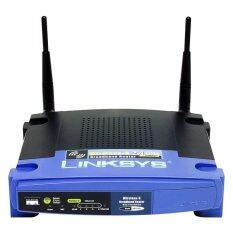 ราคา Linksys Router Wireless G Broadband With Linux Wrt54Gl Linksys