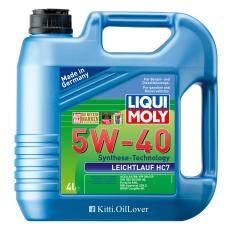 Liqui Moly Leichtlauf Hc7 5W 40 4L ใหม่ล่าสุด