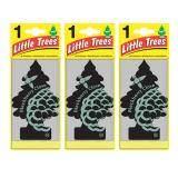 ทบทวน ที่สุด Little Trees® แผ่นน้ำหอมปรับอากาศ รูปต้นไม้ กลิ่น Blackberry Clave จำนวน 3 ชิ้น
