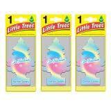 ขาย Little Trees® แผ่นน้ำหอมปรับอากาศ รูปต้นไม้ กลิ่น Cotton Candy จำนวน 3 ชิ้น Little Trees เป็นต้นฉบับ