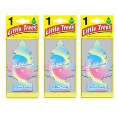 ซื้อ Little Trees® แผ่นน้ำหอมปรับอากาศ รูปต้นไม้ กลิ่น Cotton Candy จำนวน 3 ชิ้น ถูก