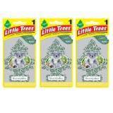 ทบทวน ที่สุด Little Trees® แผ่นน้ำหอมปรับอากาศ รูปต้นไม้ กลิ่น Eucalyptus จำนวน 3 ชิ้น