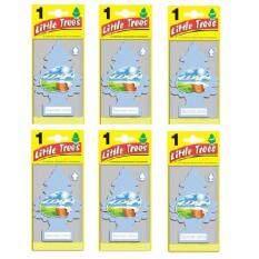 ซื้อ Little Trees® แผ่นน้ำหอมปรับอากาศ รูปต้นไม้ กลิ่น Summer Linen จำนวน 6 ชิ้น ออนไลน์