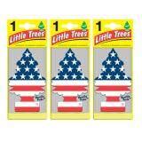 ราคา Little Trees® แผ่นน้ำหอมปรับอากาศ รูปต้นไม้ กลิ่น Vanilla Pride จำนวน 3 ชิ้น ใหม่