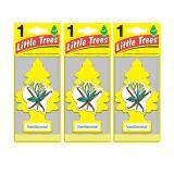 ขาย ซื้อ Little Trees® แผ่นน้ำหอมปรับอากาศ รูปต้นไม้ กลิ่น Vanillaroma จำนวน 3 ชิ้น ใน สมุทรปราการ