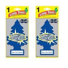 ซื้อ Little Trees X Tra Srength แผ่นน้ำหอมปรับอากาศ รูปต้นไม้ กลิ่น New Car จำนวน 2 ชิ้น ถูก สมุทรปราการ