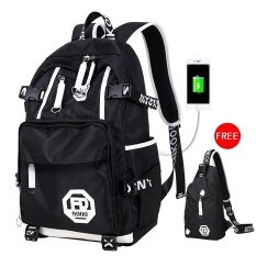 ขาย Lkn Travel Backpack Fashion Waterproof With Usb Charging Interface Outdoor Backpack Intl Unbranded Generic ออนไลน์
