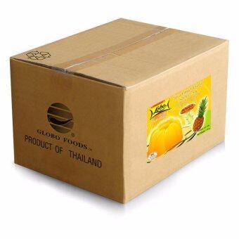 ขายยกกล่อง! LOBO โลโบ วุ้นเจลาตินสำเร็จรูป กลิ่นสับปะรด ขนาด 110 กรัม (แพ็ค 24 กล่อง)