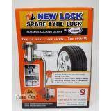 ราคา Lock Tech New Lock นิวล็อค อุปกรณ์ล็อคยางอะไหล่ S Toyota Isuzu Chevrolet Nissan