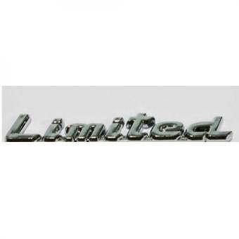โลโก้ LOGO LIMITED ความยาว 11.5*1.5*0.2 ซม. 84-racing -