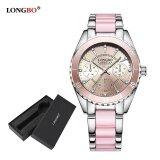 ขาย Longbo Fashion Casual Ceramics Watchband Casual Anolog Women Ladies Girls Watch Wristwatch 80303L Watch Gift Box นาฬิกาข้อมือผู้หญิง กันน้ำได้ รุ่น พิเศษแถมซองนาฬิกาสุดหรู ถูก สมุทรปราการ