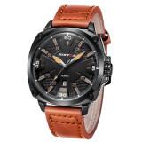 Longbo Fashion Genuine Leather Strap Mans Sport Watch Military Quartz Watch Watches Wristwatch 93003 Intl ใน สมุทรปราการ