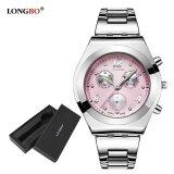 ขาย ซื้อ ออนไลน์ นาฬิกาข้อมือสตรี Longbo นาฬิกาข้อมือนาฬิกาควอตซ์ผู้หญิงนาฬิกาข้อมือสตรี 8399 นาฬิกากล่องของขวัญ