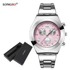 ซื้อ นาฬิกาข้อมือสตรี Longbo นาฬิกาข้อมือนาฬิกาควอตซ์ผู้หญิงนาฬิกาข้อมือสตรี 8399 นาฬิกากล่องของขวัญ ใหม่