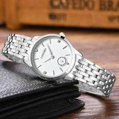 โปรโมชั่น Longbo Stainless Steel Watchband Fashion Casual Anolog Quartz Watch Wristwatch For Lovers Fashion 80272 Intl Longbo ใหม่ล่าสุด