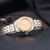 ราคา Longbo Women Waterproof Luxury Stainless Steel Strap Business Watches Quartz Wrist Watch ออนไลน์ จีน