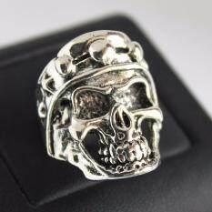 ราคา แหวนกะโหลก สแตนเลสหนา Lp 32 Lucky Jewelry ออนไลน์