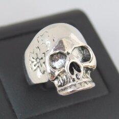 ส่วนลด แหวนกะโหลก สแตนเลสหนา Lp 45 Lucky Jewelry