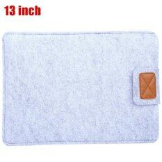 ส่วนลด Lss 13Inch Soft Wool Laptop Computer Bag For Apple Macbook Air Notebook Case Gray Lss Thailand
