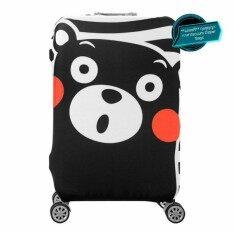 ขาย ผ้าคลุมกระเป๋าเดินทาง Luggage Cover Protector รุ่น Kuma Size L 26 28 นิ้ว แถมฟรี ถุงสูญญากาศ Vacuum Zipper Bags Unbranded Generic ถูก