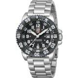 ทบทวน Luminox Male Black Dial Silver Strap 3152