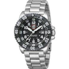 โปรโมชั่น Luminox Male Black Dial Silver Strap 3152 ใน Thailand
