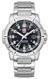 Luminox Male Black Dial Silver Strap 6252 เป็นต้นฉบับ