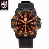 ขาย Luminox Navy Seal Colormark 3050 Series นาฬิกาข้อมือผู้ชาย สีส้ม สายเรซิ่น รุ่นA 3059 ออนไลน์ Thailand
