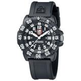 ทบทวน ที่สุด Luminox Navy Seal Colormark 3050 Series นาฬิกาข้อมือผู้ชาย สีดำ สายเรซิ่น รุ่นA 3051
