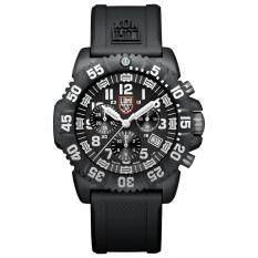 ราคา Luminox นาฬิกาข้อมือสุภาพบุรุษ รุ่น Navy Seal Colormark Chrono 3081 สีดำ สายข้อมือยาง Luminox ออนไลน์