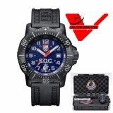 ส่วนลด Luminox Set Box นาฬิกาข้อมือชาย เรือน สแตนเลสสตีล กระจก Sapphire Glass รุ่น Ggl L4223 Soc Set Luminox