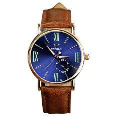 ขาย ซื้อ Luxury Sport Military Quartz Dial Men Women Leather Analog Quartz Wrist Watch 4 ใน จีน