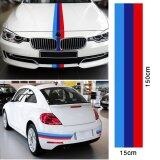 ส่วนลด สินค้า M Colored Car Door Hood Vinyl Sticker Decal Stripe Fenders For Bmw Decoration 1 5M Intl