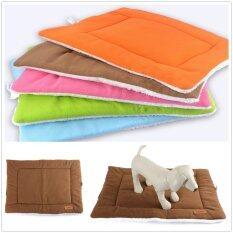 ขาย เอ็มเล็กไซส์กลางเสื่อโคร่งสัตว์เลี้ยงกรงกรงสุนัขกรงนอนเบาะรองกาแฟ ราคาถูกที่สุด