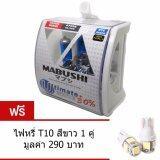 ทบทวน ที่สุด Mabushi หลอดไฟหน้า รถยนต์ มอเตอร์ไซค์ H4 White Light Halogen 12V
