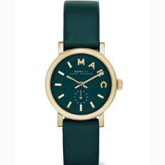 ขาย ซื้อ ออนไลน์ Marc Jacobs Mbm1272 Women S Baker Mini Green Leather Strap Green Dial Watch
