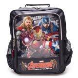 ซื้อ Marvel กระเป๋าเป้ลาย Avengers ขนาด 13 นิ้ว รุ่น Mv 2290 Black ถูก