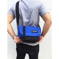 ราคา Maspo Mini Two Tone Bag Blue ออนไลน์ ไทย