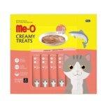 ขาย Me O Creamy Treats Salmon 15G X 20 Units 4 Packs มีโอ ขนมแมวเลีย รสปลาแซลมอน บรรจุแพ็คละ 20 ซอง ซองละ 15 กรัม จำนวน 4 แพ็ค ถูก ใน ไทย
