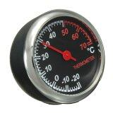 ขาย Mechanics Auto Uhr Car Mini Thermometer Hygrometer Clock Pointer Borduhr Kfz 12V ออนไลน์ จีน